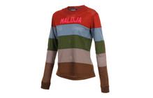 Maloja AmayaM. Freeride Jersey Dames 1/1 grijs/bruin